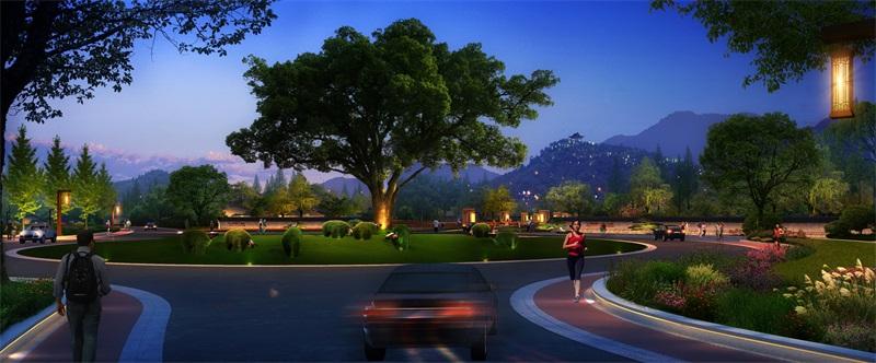 广丰区现代农业示范园(三都)核心区入口景观