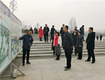 陕西省文化与旅游厅领导考察人文园林项目